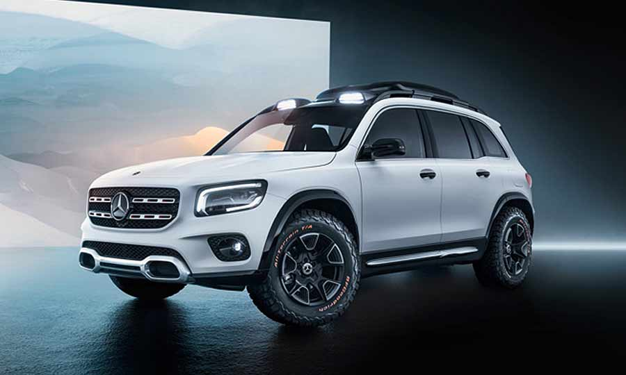 """2020 Mercedes – Benz GLG Is A """"Baby G-Class"""" SUV >> Mercedes Goes Boxy With Baby G Wagen Glb Concept"""