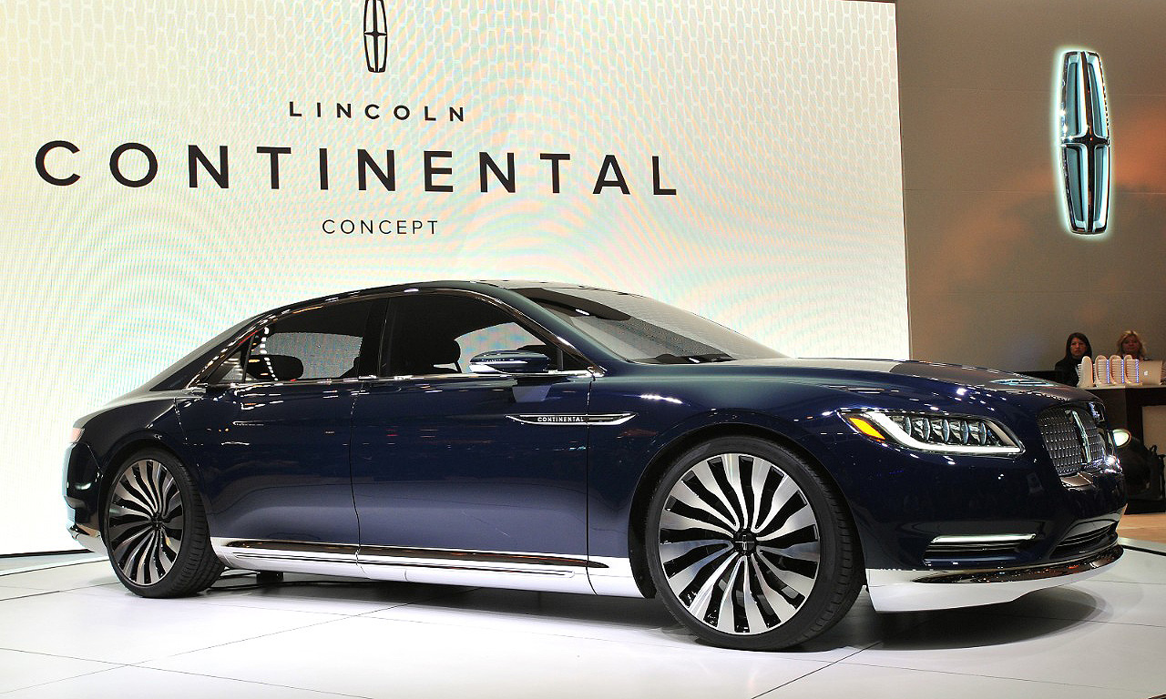 Ford confirms it will build Lincoln Continental in Michigan plant 190d79c6c