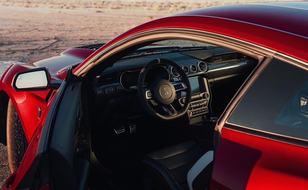 2020 ford mustang shelby gt500 interior automotive news