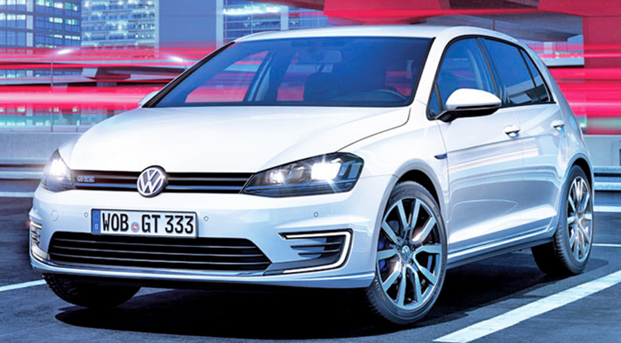 vw prepares sporty golf gte plug-in hybrid