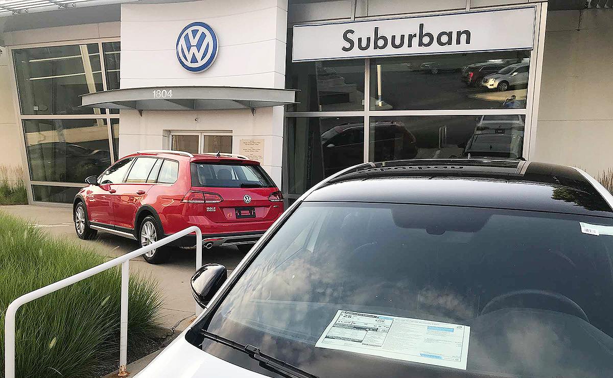 Chase Auto Finance Subaru >> Vw Credit Citizens One Auto Finance Top Jdpower Dealer