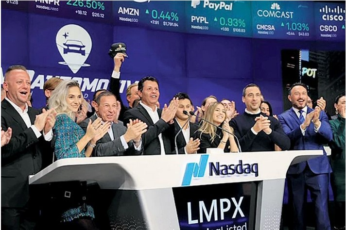 LMP Automotive Holdings was founded in 2017 by Samer Tawfik and went public in 2019.