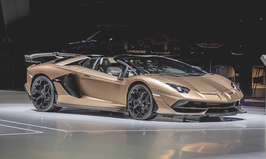 2020 Lamborghini Aventador Svj Roadster Kelley Blue Book
