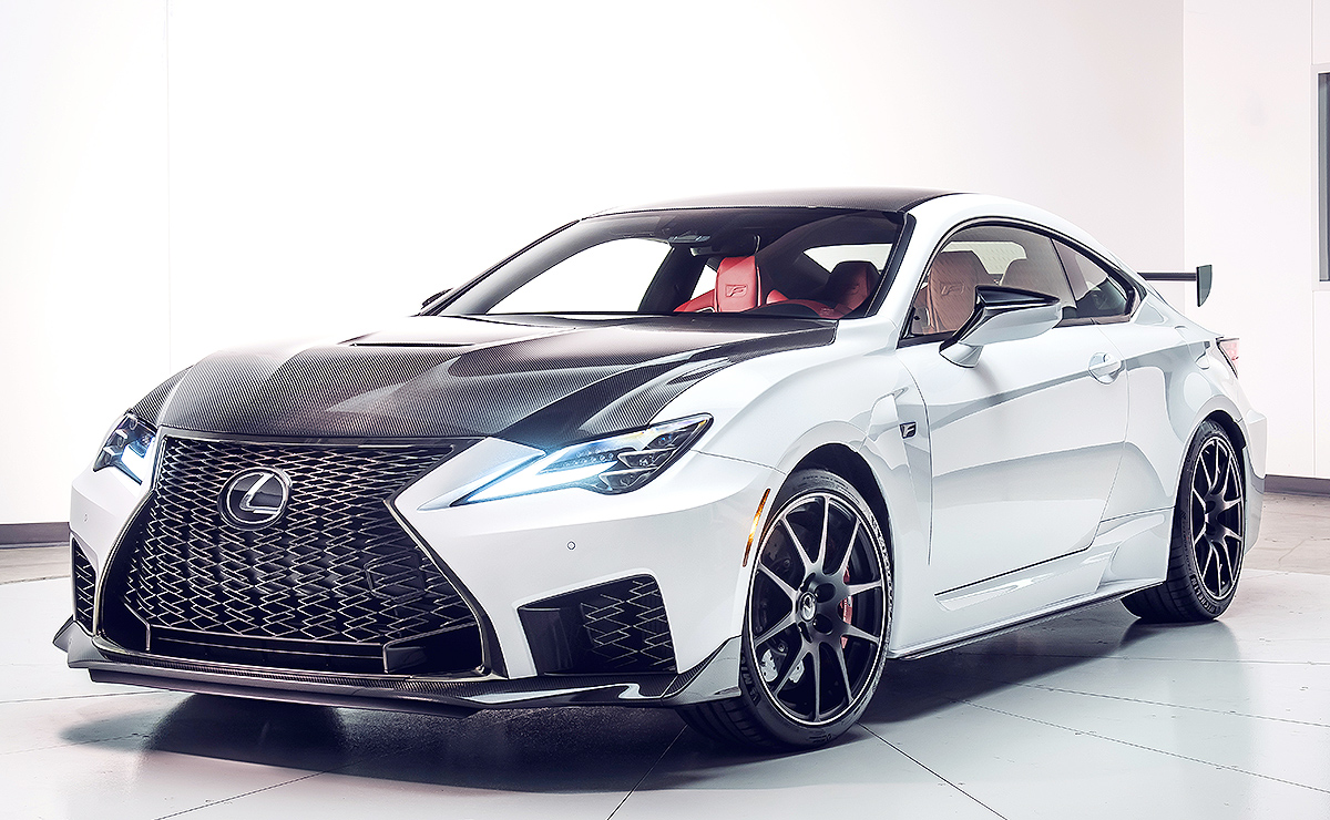 Lexus' freshened RC F, new Track Edition give meaning to