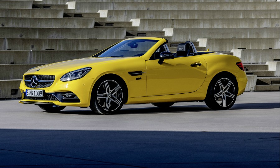 Mercedes To Drop Slc Two Seat Roadster