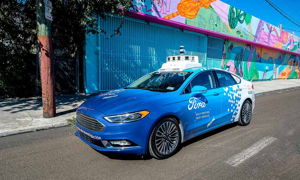 Ford Intends To Use Purpose Built Autonomous Vehicles Carry Both Pengers And Consumer Goods
