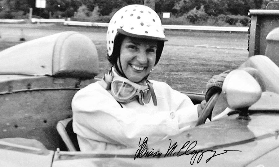 "Portrait of Denise McCluggage: ""Lady Leadfoot"""