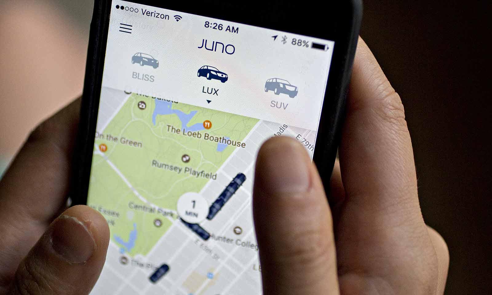 Uber rival Gett mulls sale of ride-sharing startup Juno