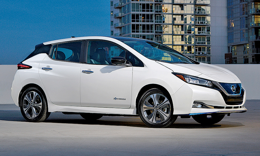 With The Leaf Plus Ev Nissan Is Back In Range