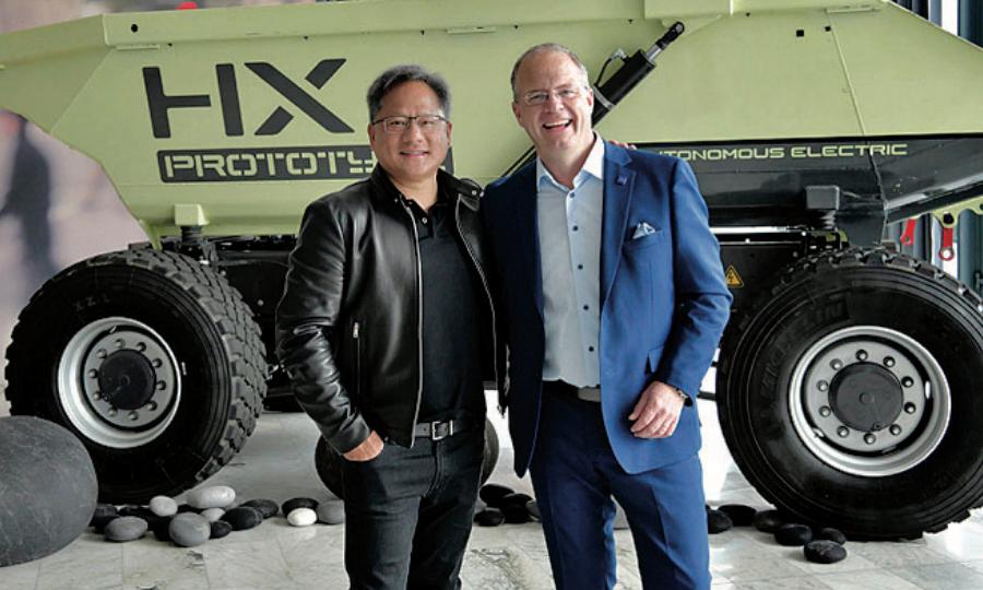 Nvidia, Volvo forge partnership for AV trucks