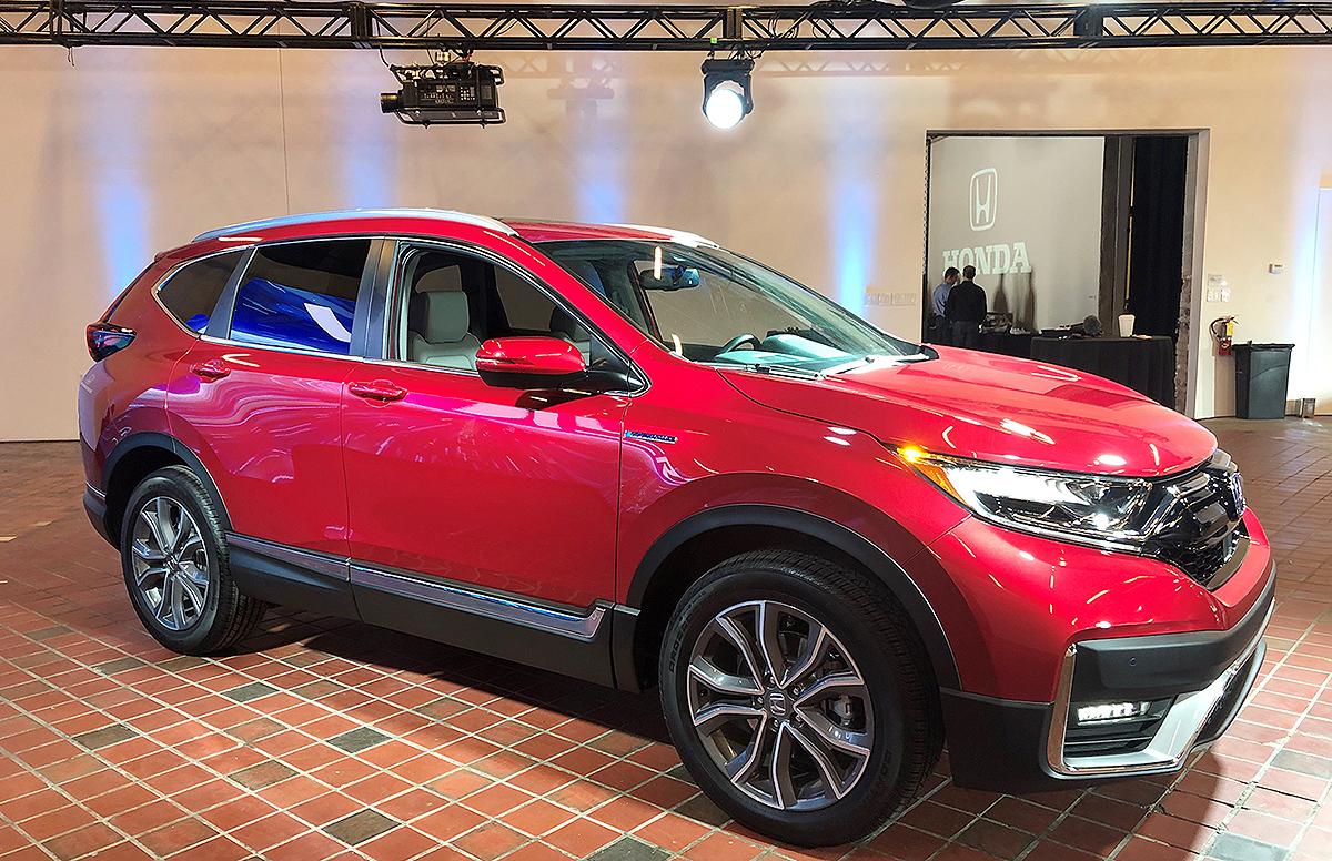 Honda Crv Hybrid >> Honda Cr V Hybrid Coming To U S Next Year