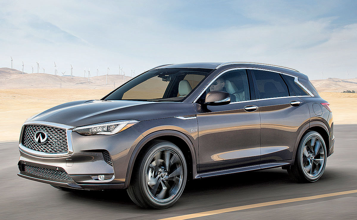 Infiniti Quietly Builds Qx50 In Mexico
