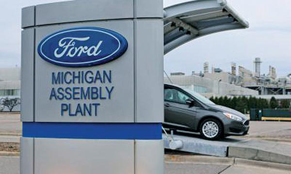 Detroit Ford Motor Co Will Idle Its Michigan Embly Plant In Suburban For More Than Five Months Starting May Temporarily Laying Off 2 000