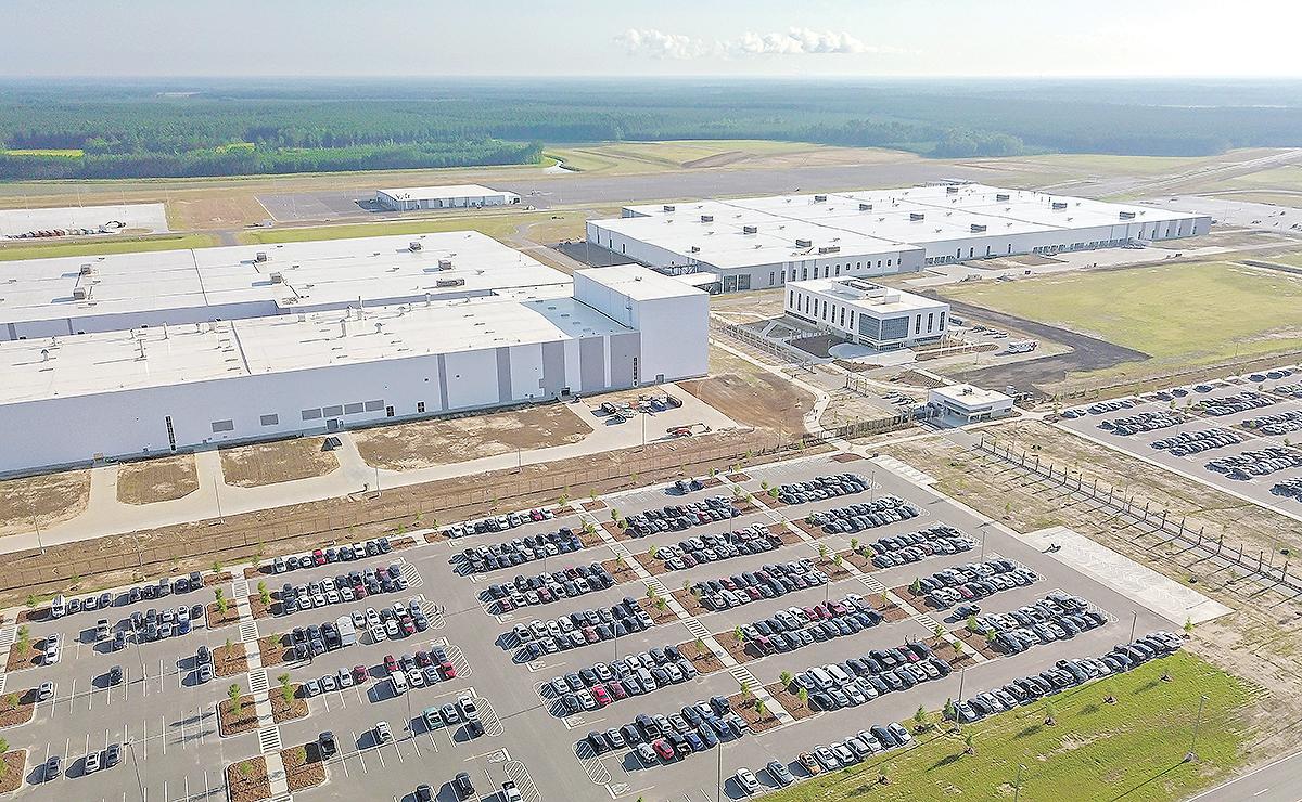 Volvo S South Carolina Plant Opens