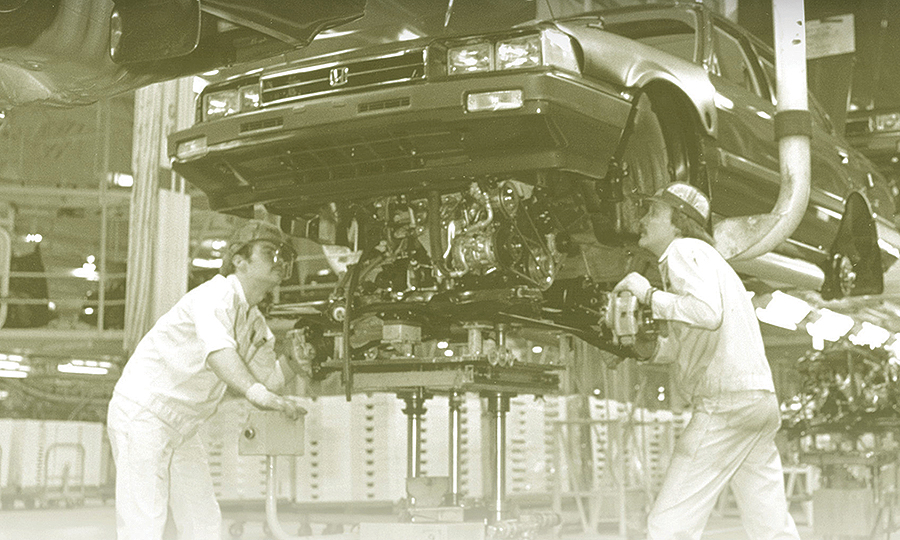 Looking back on Honda's brush with the UAW