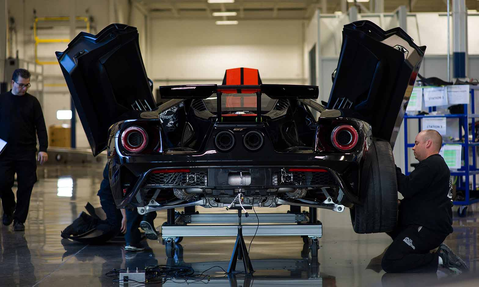 Ford To Build Additional  Gt Supercars Extends Output By  Years