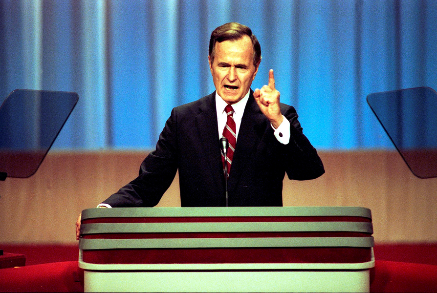 President George H W Bush Free Trade Proponent Ethanol Supporter