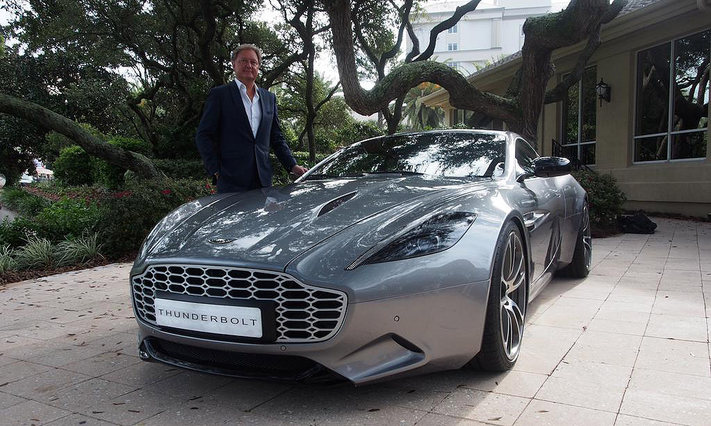 Aston Martin claims Henrik Fisker's Thunderbolt is