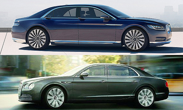 Did Lincoln Continental rip off Bentley  Design chiefs clash online 5a2ede572