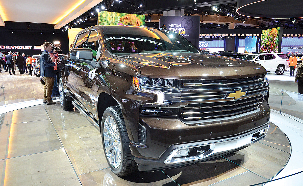 New Pickups Leave Ford On Aluminum Island