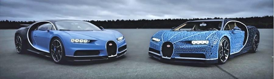 A Bugatti Built From Legos