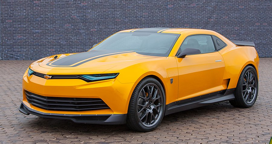 Bumblebee Camaro Shows Off Gms Design Muscle In Transformers Flick
