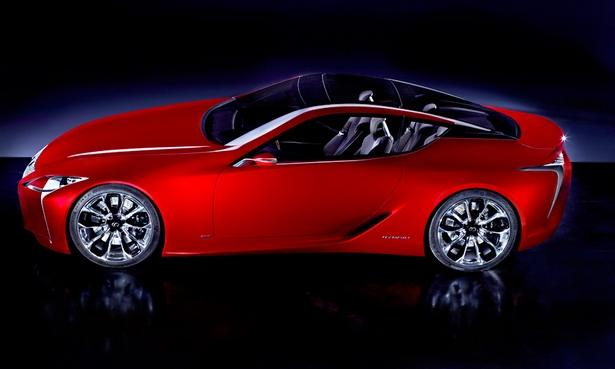 Lexus gets sportier with LF-LC coupe concept