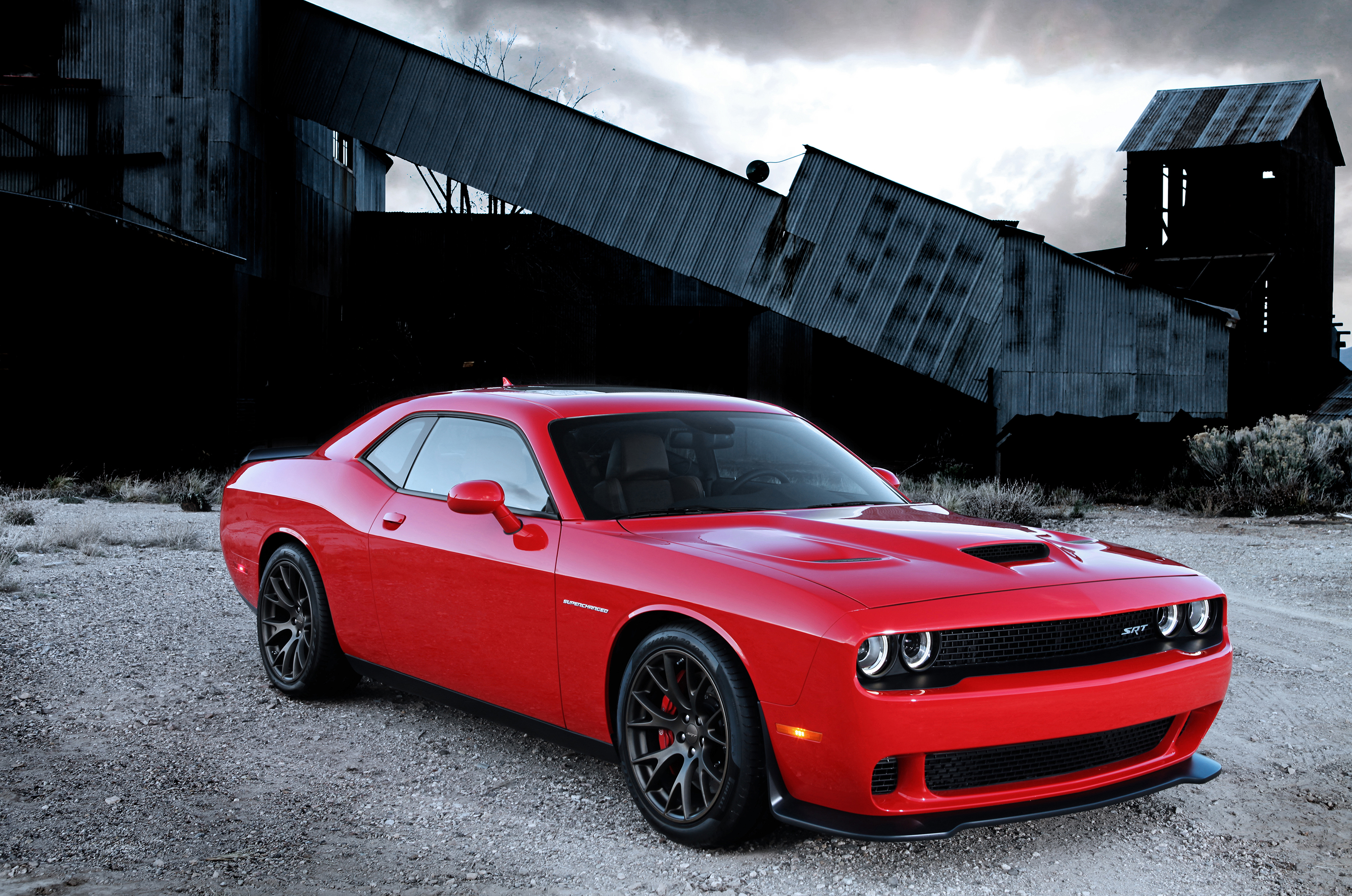 Hellcat Powered Challenger Srt Gets Big Boost To Fight Mustang Camaro