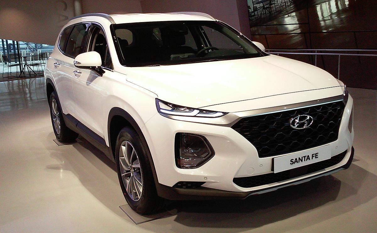Santa Fe Suv >> New Hyundai Santa Fe To Be Brand S First Diesel Vehicle In U S