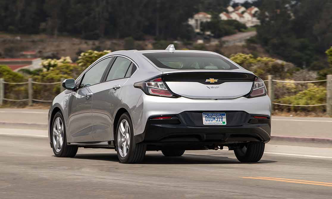 Chevy Reduces Charging Time On 2019 Volt