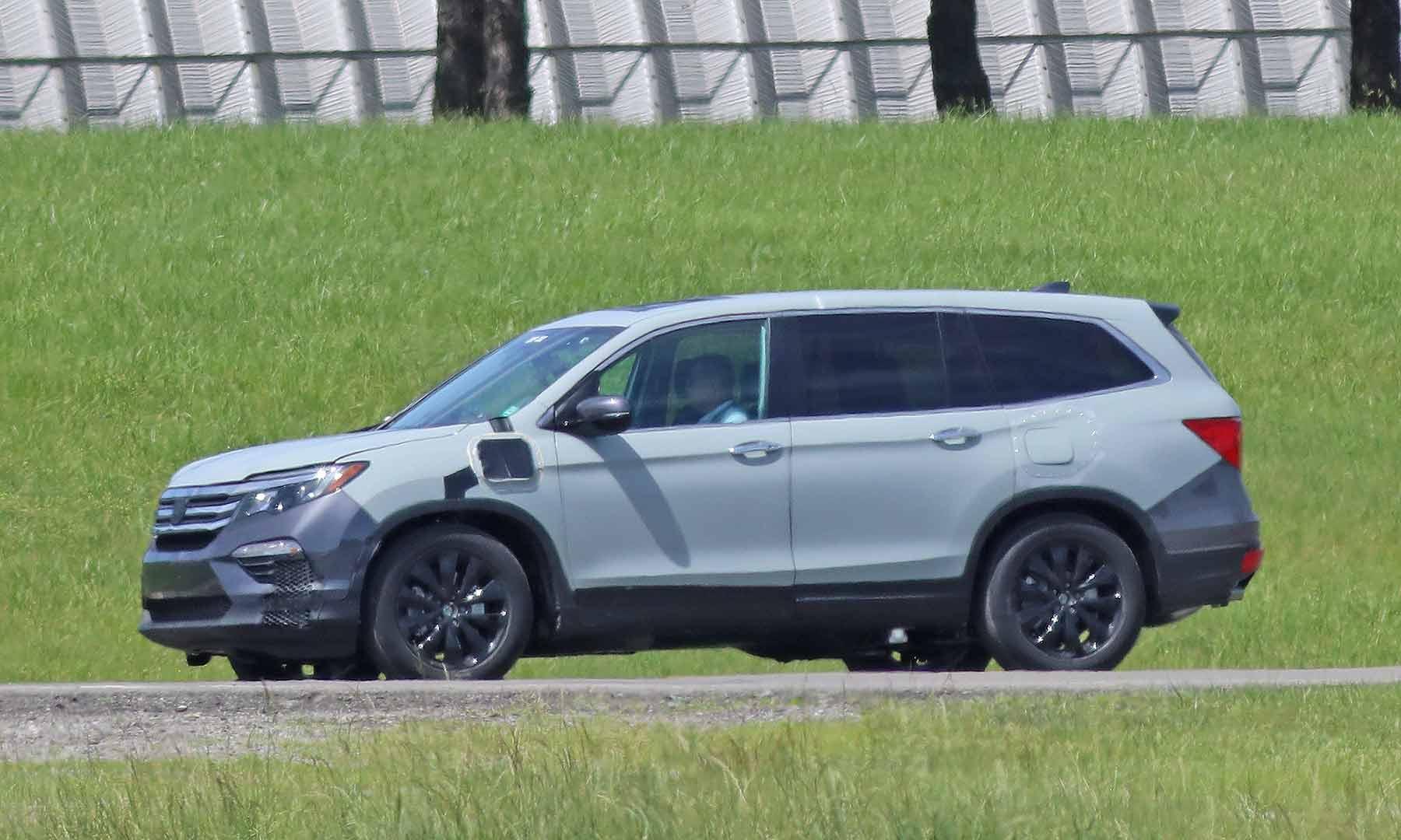 2020 Honda Pilot Spy Engine