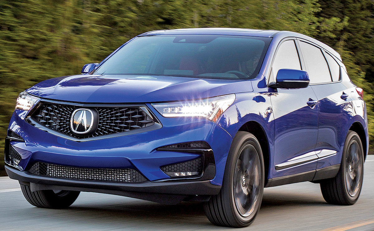Acura Rdx Signals Return To Performance Heritage