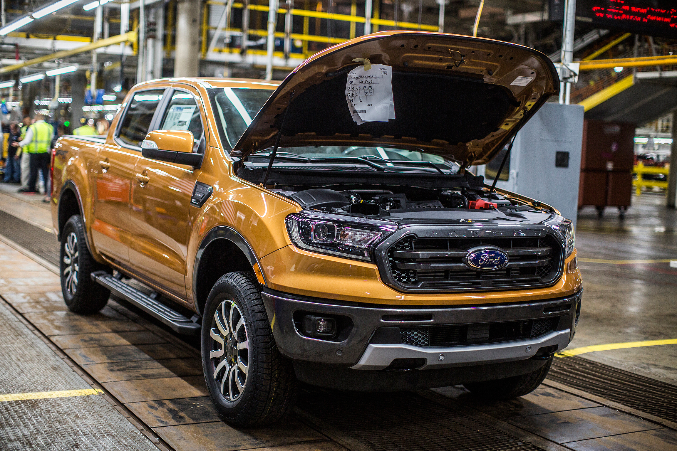 Ford Ranger Pickup Rated At 23 Mpg Combined Best Among Gasoline Ed Rivals