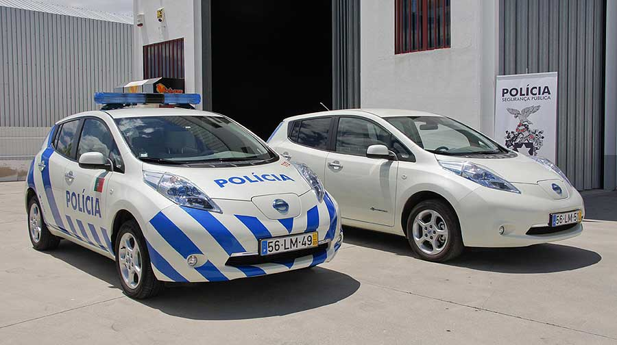 silent justice: the nissan leaf as a stealthy police car?