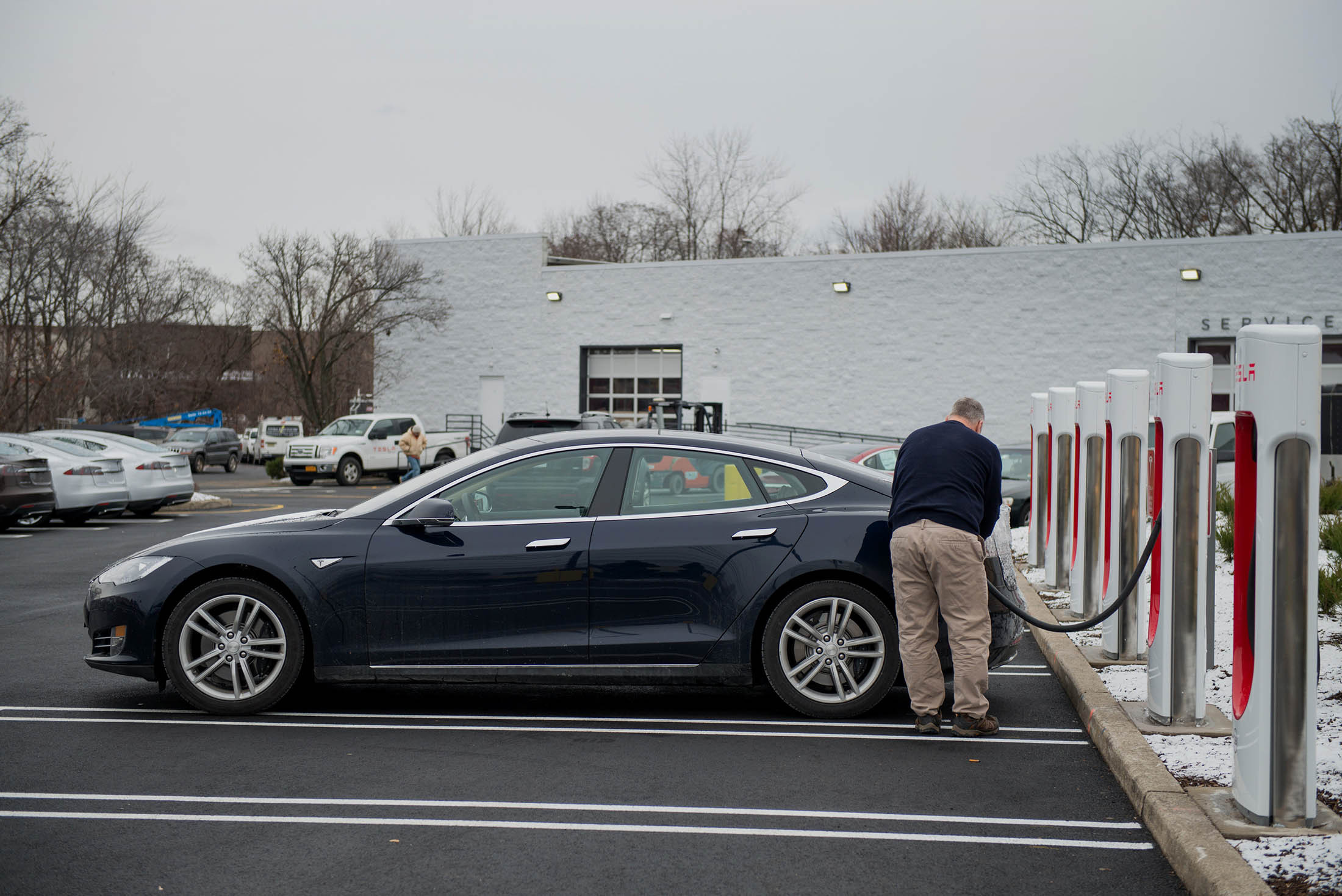 Tesla Ceo Elon Musk Says Use Of Its Supercharger Stations Will Still Be Very And Far Er Than Gasoline To Drive Long Distance With The Model 3