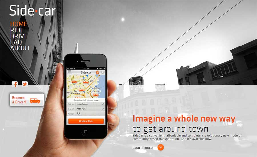 Sidecar Ride App >> Looking For A Ride App Connects Drivers And Passengers