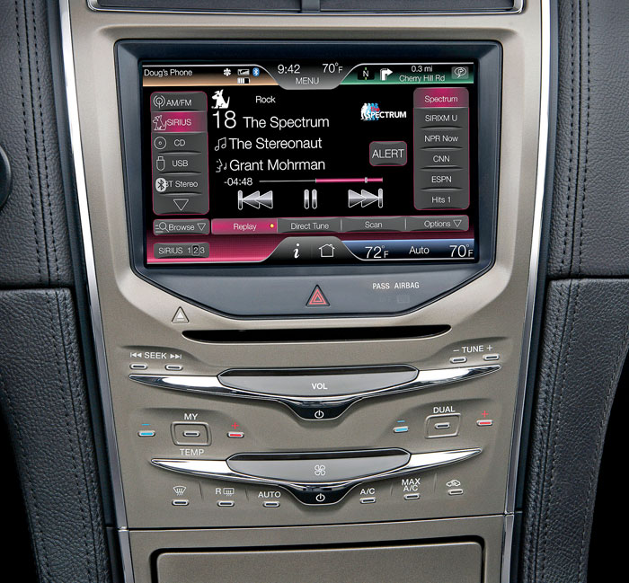 Myford Touch Update >> Ford To Upgrade Extend Warranty On Myford Touch Screen System