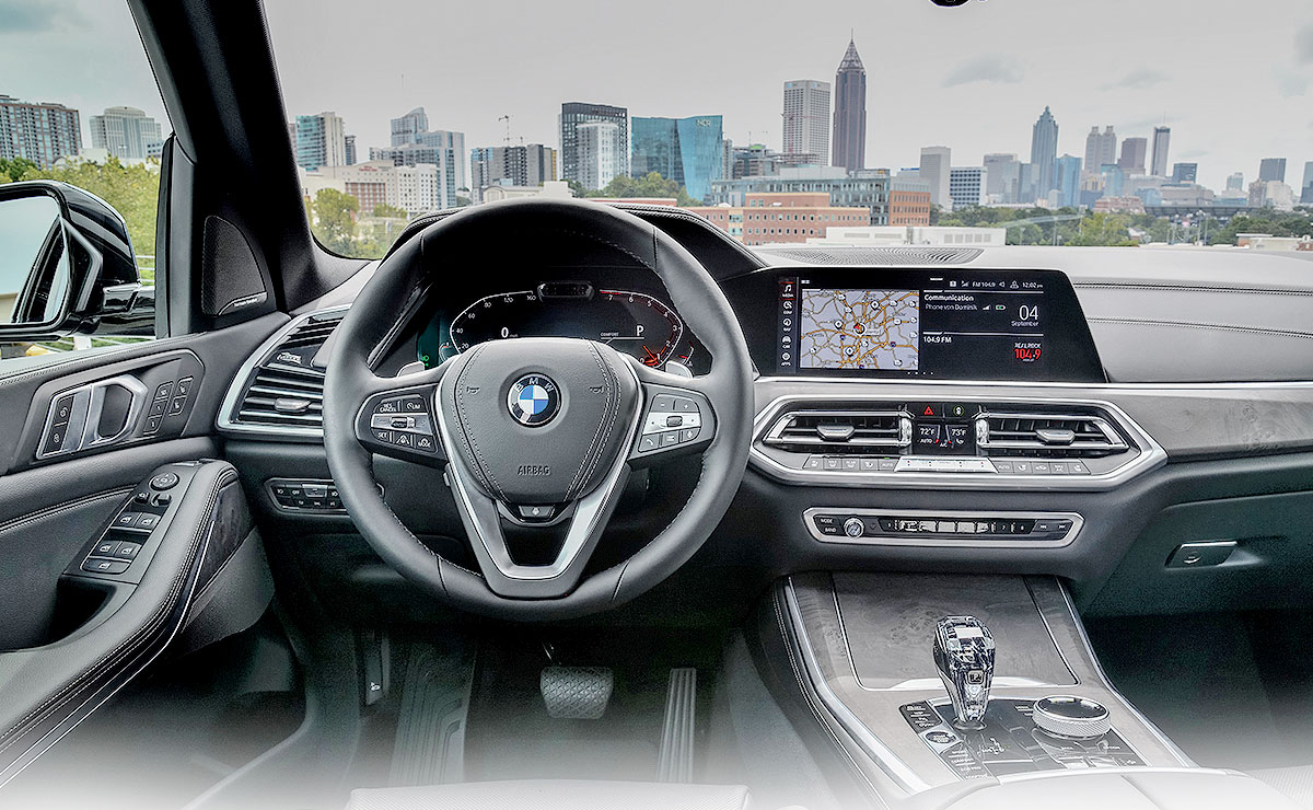 BMW X5 camera keeps an eye on the driver to monitor alertness