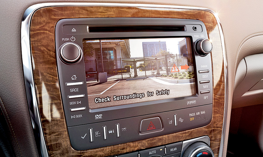 Buick joins race to make backup cameras standard