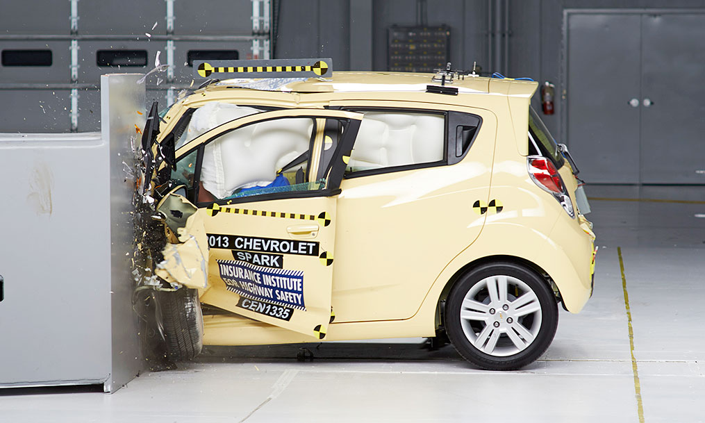 Chevy Spark Only Tiny Car To Get Acceptable Rating In New Iihs Crash