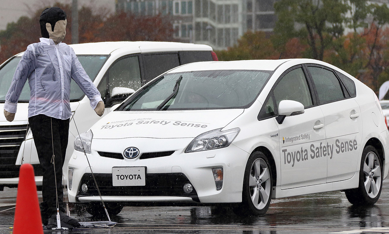 toyota brings active safety to masses in 2015 toyota brings active safety to masses