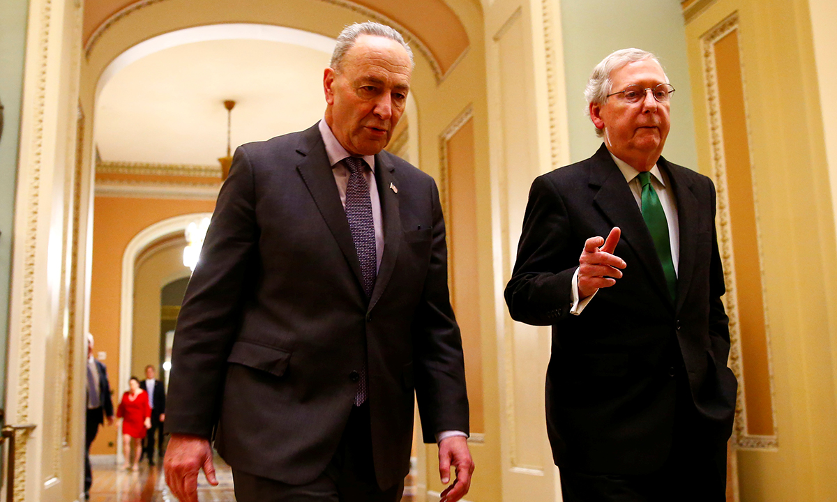 Senate S Mitch Mcconnell Charles Schumer Urged To Fix Autonomous