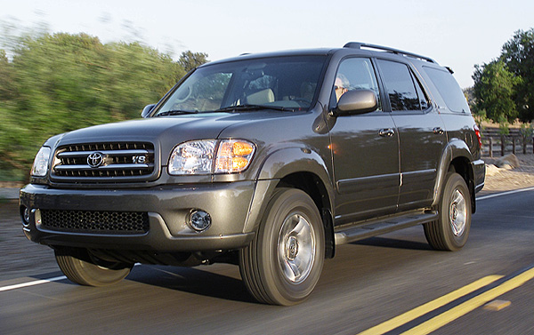 Toyota to recall Sequoia SUVs to repair stability control units