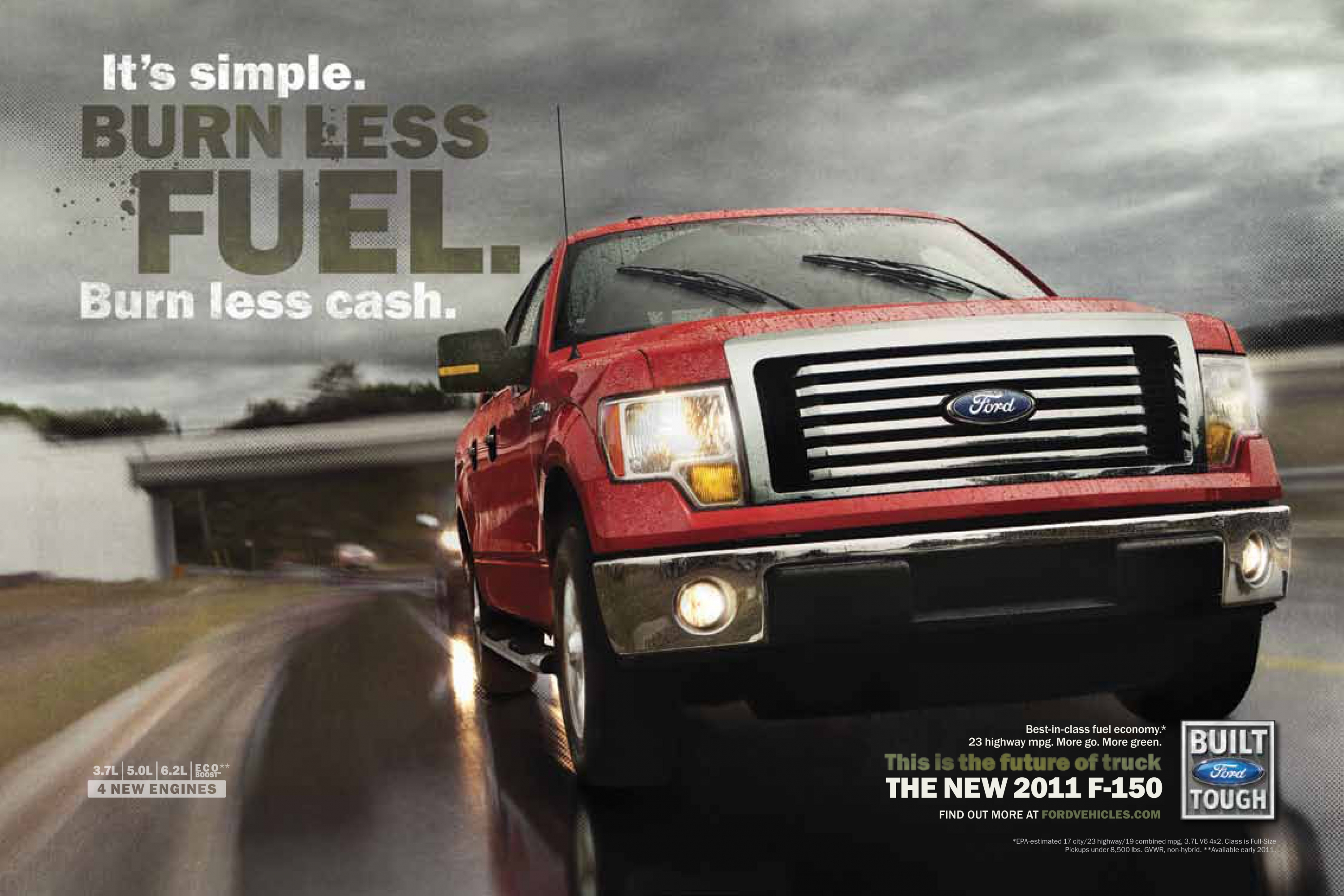 Ford To Launch Ad Campaign For 2011 F 150