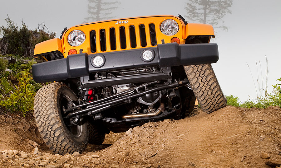 Jeep Wrangler Solid Axle