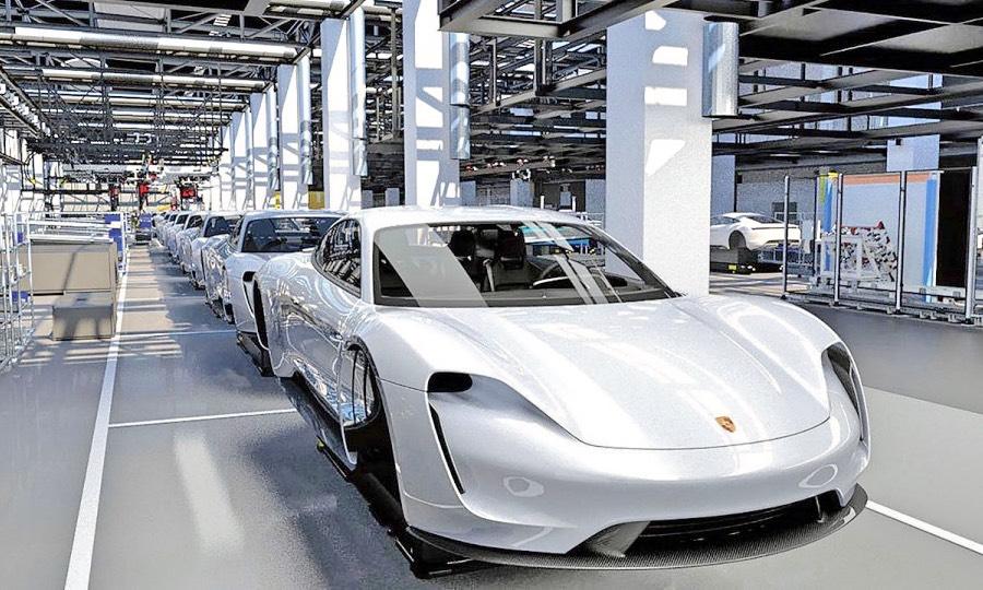 Reimold fine tunes Porsche EV production
