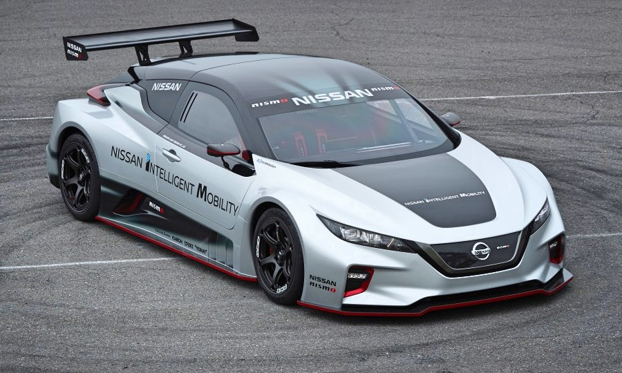 Leaf Nismo Rc Nissan S Zero Emission Road Machine