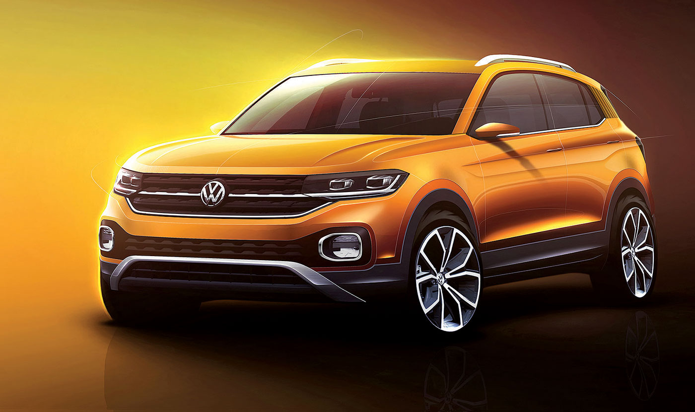 Vw T Cross >> Vw T Cross Too Small For North America