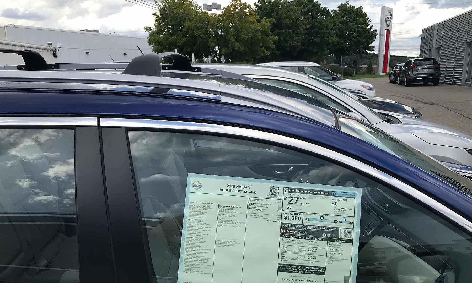 u.s. october 2018 nissan auto sales: sales slide 11% despite