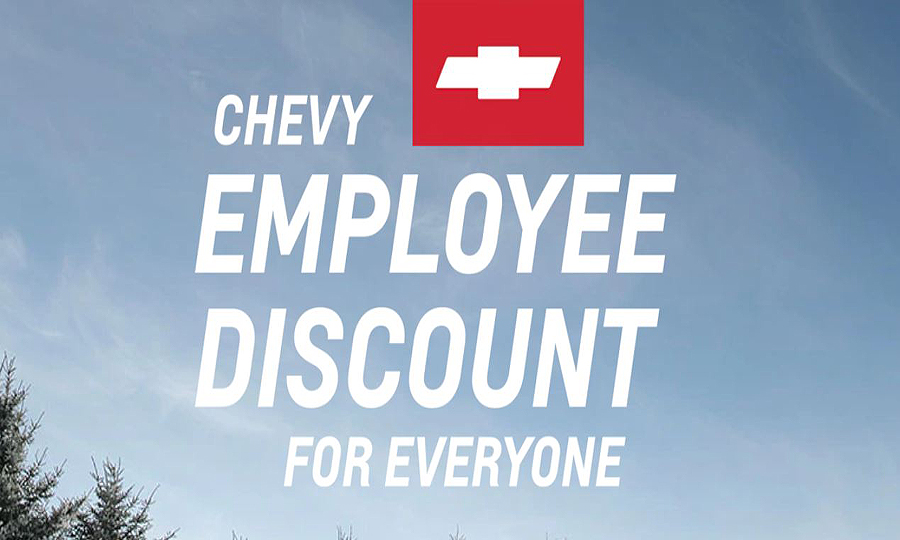 Why Chevy Is Launching Another Employee Pricing Campaign
